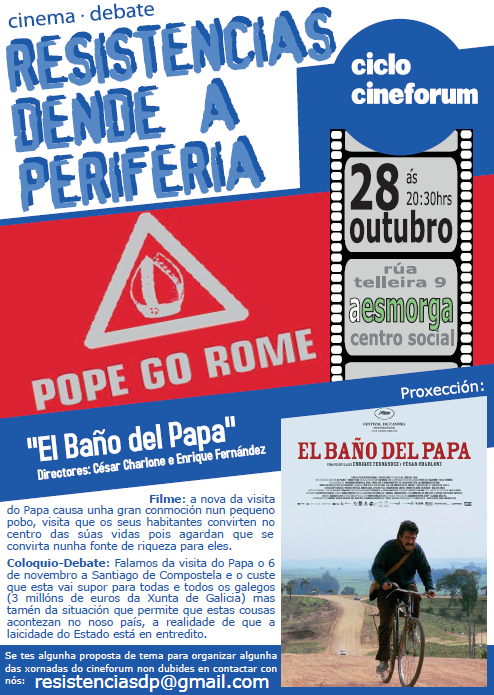 cartaz cineforum papa