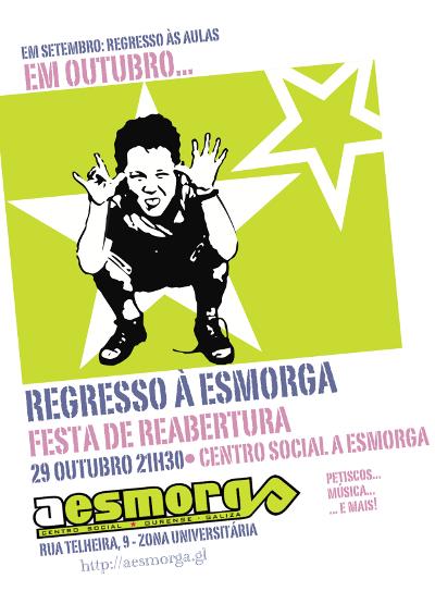 cartaz festa reabertura
