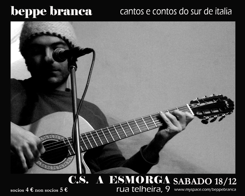 cartaz do concerto