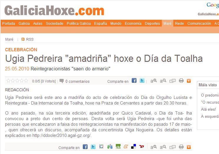 galicia hoxe 25 maio 2010