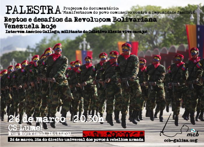 Reptos e desafios da Revoluçom Bolivariana