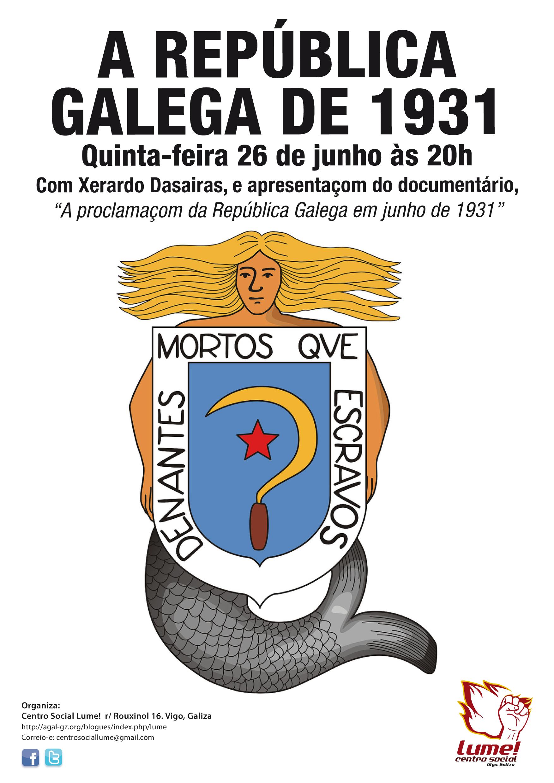 a rep�blica galega de 1931