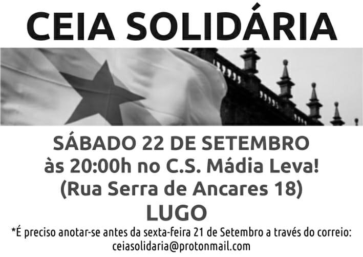 Pola noite haverá umha nova ceia solidária no centro social que dará começo  às 20h00. 788a67d4e62e5