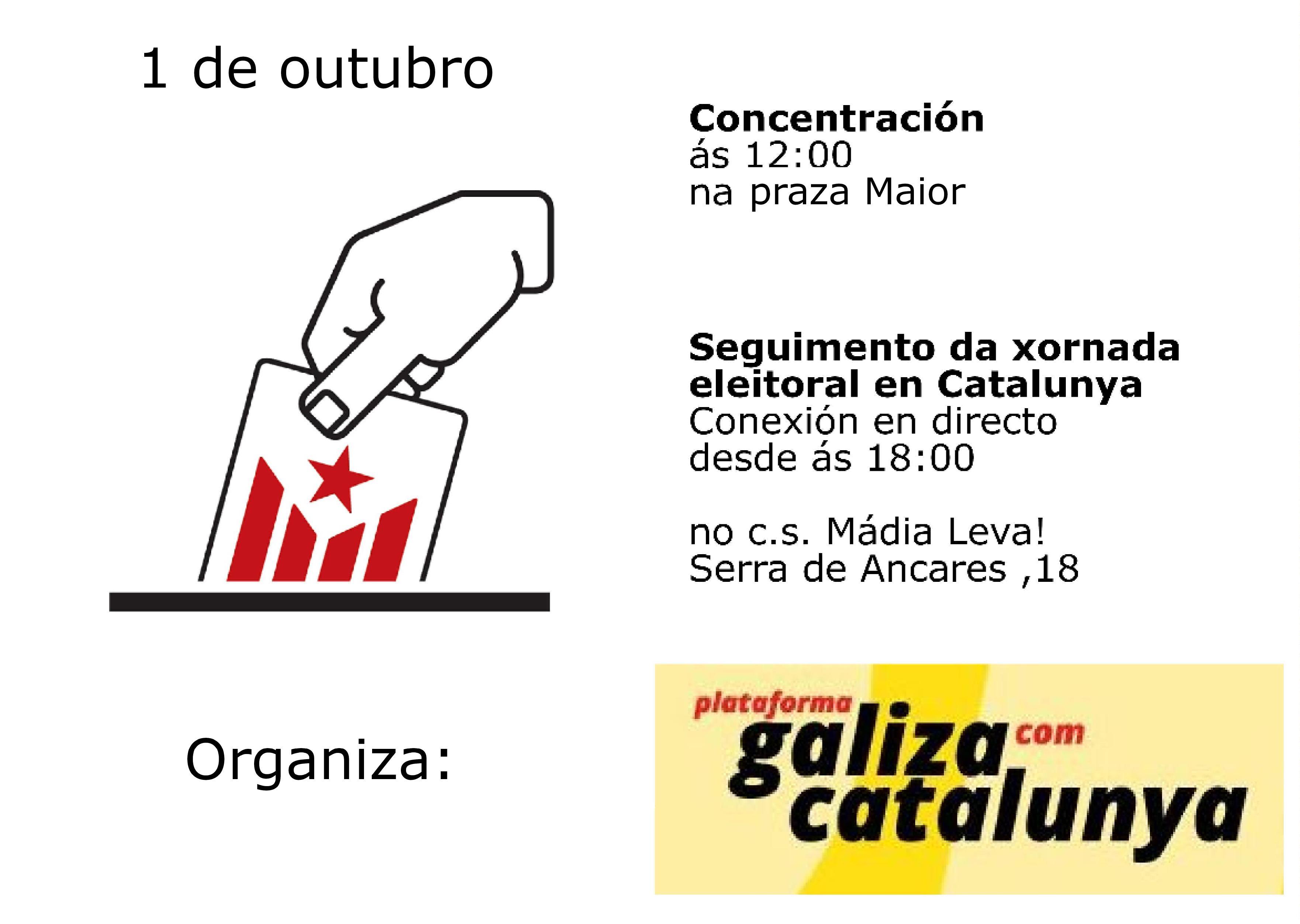 Lugo 1 De Outubro S 12h00 Concentraom Na Subdelegacine A Partir Das 18h00 Seguimento Da