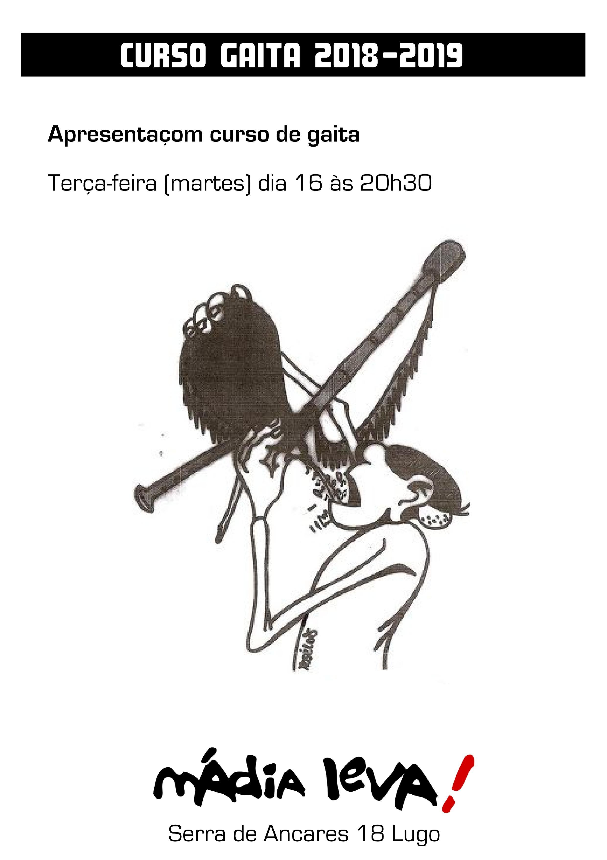 Apresentaom Curso De Gaita Co Mestre Victor M Villamor Dia 16 Outubro S 20h30