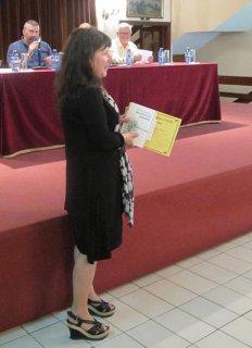 O FACHO: Entrega dos prémios literários: Contos de Nenos para Nenos e de Teatro infantil