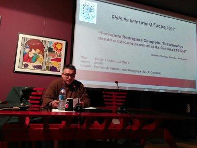 O FACHO:  Fernando Rodríguez Campelo: Testemunhas desde o cárcere da Corunha por Henrique Sánchez Rodríguez