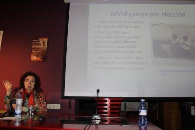 O FACHO: María Victoria Moreno: o compromiso coa lingua e as liberdades e O Facho por Marilar Aleixandre