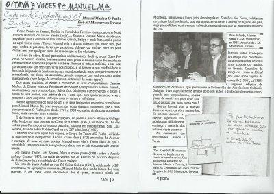 Manuel Mar�a e O Facho por Jos� M� Monterroso Devesa