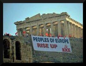 O povo grego em pé contra o capitalismo