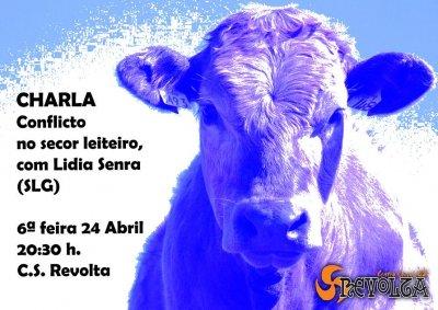 Charla: Conflicto no sector leiteiro