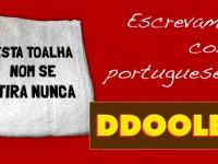 Escrevamos como portugueses!